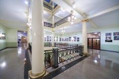 Área de recreação com coluna e pinturas Fotografia de Stock Royalty Free