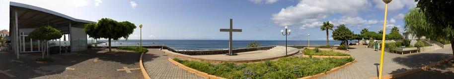 Área de recreação da cidade praia Imagens de Stock Royalty Free