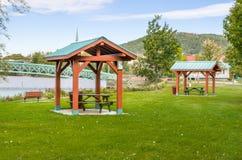 Área de recreação do beira-rio Foto de Stock Royalty Free