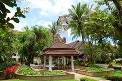 Área de recreação do hotel de luxo Fotos de Stock Royalty Free