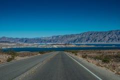 Área de recreação nacional do hidromel do lago Foto de Stock Royalty Free