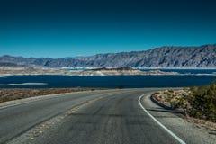 Área de recreação nacional do hidromel do lago Imagem de Stock