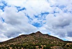 Área de região selvagem da garganta de Salt River, floresta nacional de Tonto, Gila County, o Arizona, Estados Unidos fotos de stock royalty free