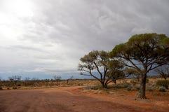 Área de repouso no interior australiano Fotos de Stock