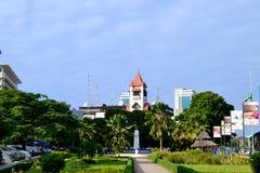 Área de restauración en Dar es Salaam Imágenes de archivo libres de regalías