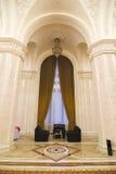 Área de sentada elegante en palacio Imagen de archivo