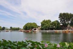 Área de Shichahai (os três lagos traseiros) Foto de Stock