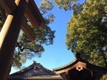 Área de templo Foto de archivo libre de regalías