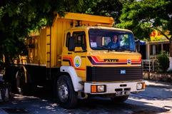 Área de trabajo del mantenimiento de carreteras Fotografía de archivo