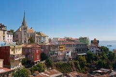 Área de Valparaiso, o Chile Fotos de Stock Royalty Free