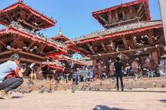 Área del basantapur del ` s de Nepal imagen de archivo