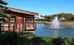 Área del club de golf de Sueno. Imagenes de archivo