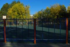 Área del deporte al aire libre Foto de archivo libre de regalías