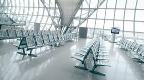 Área del embarque del aeropuerto Imagen de archivo libre de regalías