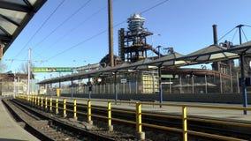 Área del horno del VÃtkovice más bajo Ostrava metrajes