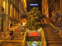 Área del inconformista de Marsella Fotos de archivo libres de regalías