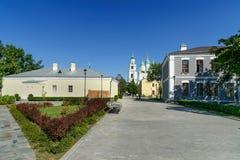 Área del Kremlin en Astrakhan Rusia Foto de archivo libre de regalías