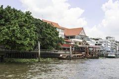 Área del paisaje del río de Jaopraya Imágenes de archivo libres de regalías