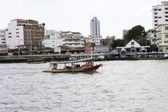 Área del paisaje del río de Jaopraya Foto de archivo libre de regalías