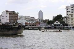 Área del paisaje del río de Jaopraya Fotos de archivo libres de regalías