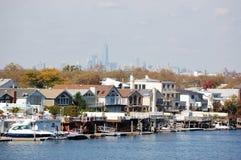 Área del parque marino, Nueva York Fotografía de archivo