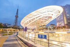 Área del parque público del oasis 21 de Nagoya Imagenes de archivo