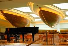 Área del pasillo de la recepción en hotel de lujo imagen de archivo