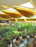 Área del pasillo de la recepción en hotel de lujo fotografía de archivo libre de regalías