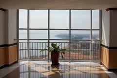 Área del pasillo del hotel del Lao de un hotel Imágenes de archivo libres de regalías
