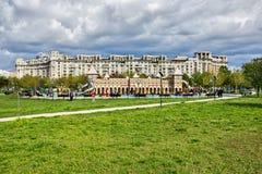 Área del patio de Bucarest Foto de archivo libre de regalías