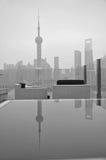 Área del pudong de la Federación de Shangai Fotos de archivo