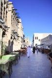Área del restaurante de Souq Foto de archivo libre de regalías
