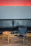 Área del salón Fotografía de archivo libre de regalías