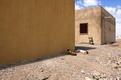 Área deserta Imagem de Stock Royalty Free