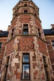 Área do castelo de Frederiksborg em Hillerod Imagem de Stock Royalty Free