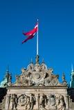 Área do castelo de Frederiksborg em Hillerod Fotografia de Stock
