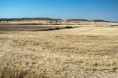 Área do deserto pela rota do canal de Urgell Imagens de Stock Royalty Free
