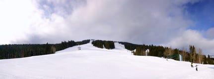 Área do esqui do Mt. Spokane fotos de stock