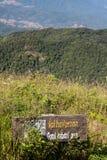 Área do habitat, província de Chiang Mai, Tailândia foto de stock royalty free