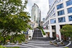 Área do Oceanfront em Vancôver, BC fotos de stock royalty free