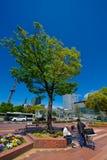 Área do público de Nagoya Sakae Fotografia de Stock Royalty Free