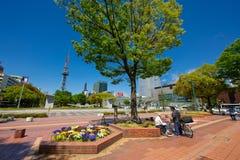Área do público de Nagoya Sakae Foto de Stock Royalty Free