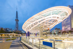 Área do parque público dos oásis 21 de Nagoya Fotos de Stock Royalty Free