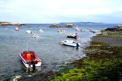 Área do porto do Baía-Bordéus de Guernsey-Petils Imagens de Stock Royalty Free