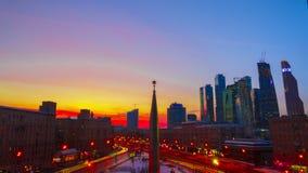 Área Dorogomilovskaya Zastava Moscou, Kutuzov Imagens de Stock