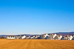 Área dos novos domicilios para famílias imagem de stock royalty free