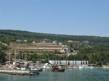 Área dourada de Varna das areias de Bulgária Imagens de Stock