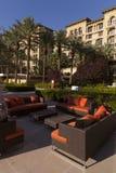 Área en Las Vegas, nanovoltio del salón de la piscina del rancho del valle verde el 2 de agosto Imagen de archivo