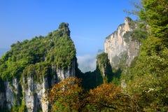 Área escénica del barranco de China foto de archivo libre de regalías