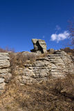 Área escénica del bosque de piedra de Arshihaty Foto de archivo